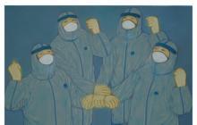 2020新型冠状病毒笼罩下的春节作文